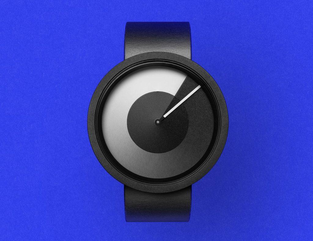 ZIIIRO+HORIZON+Minimal+Monochrome+Watch+features+unique+numberless+dials