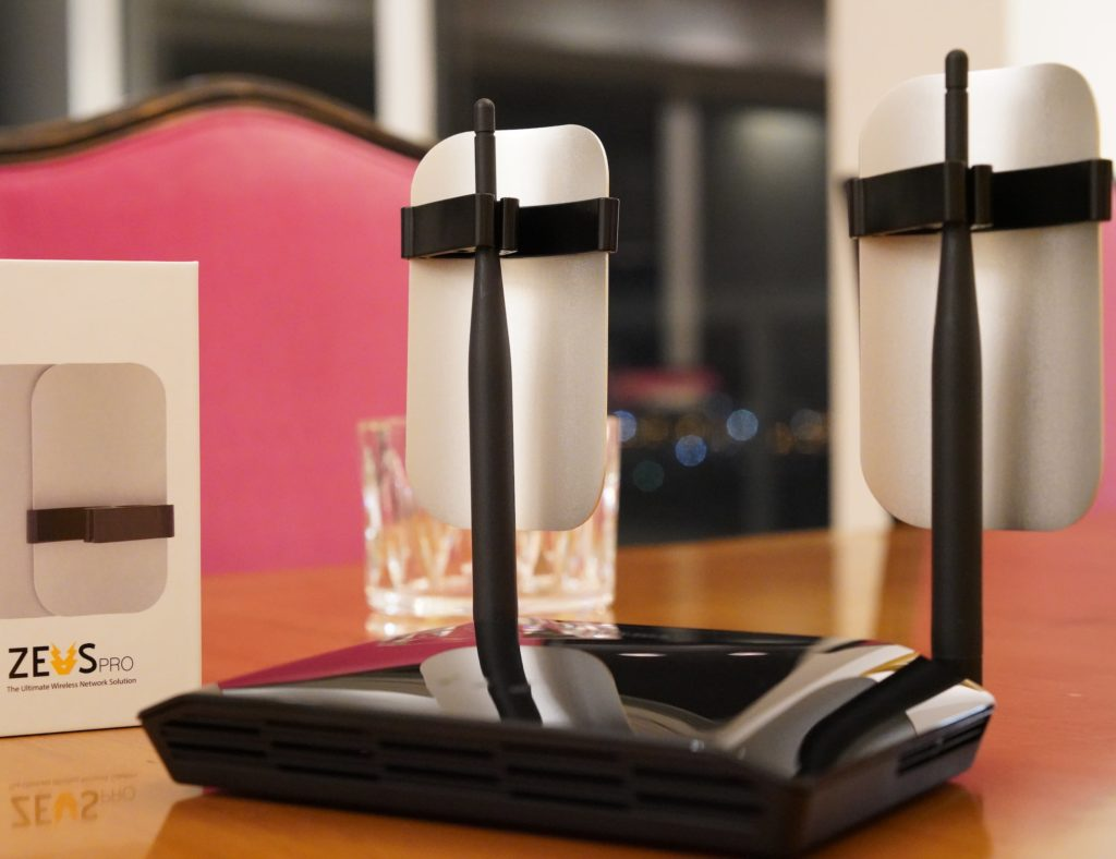 ZeusPro+Non-Electrical+Wi-Fi+Amplifier+improves+your+internet+quality