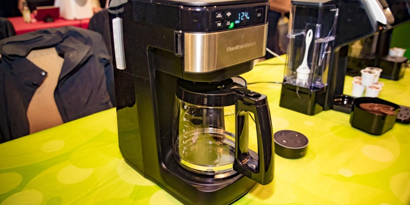 Hamilton Beach Alexa-Enabled Smart Coffee Maker - 8 Connected coffee makers that will make mornings better