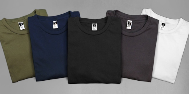 body types - 3 FIT Theory shirts provide the ultimate fit