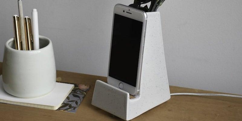 Stak Ceramics Bloom Phone Vase