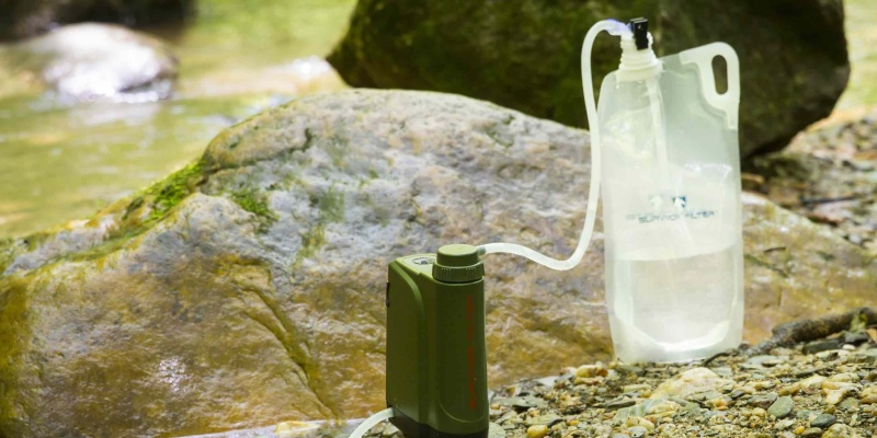 three-stage filtration - When you need clean water, the Survivor Filter Pro X can help