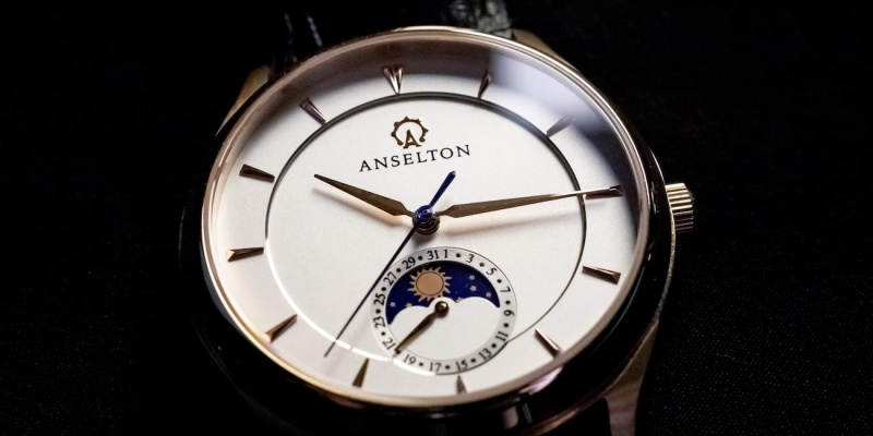 watch brand - The Anselton Sundate adds a little luxury to your wrist