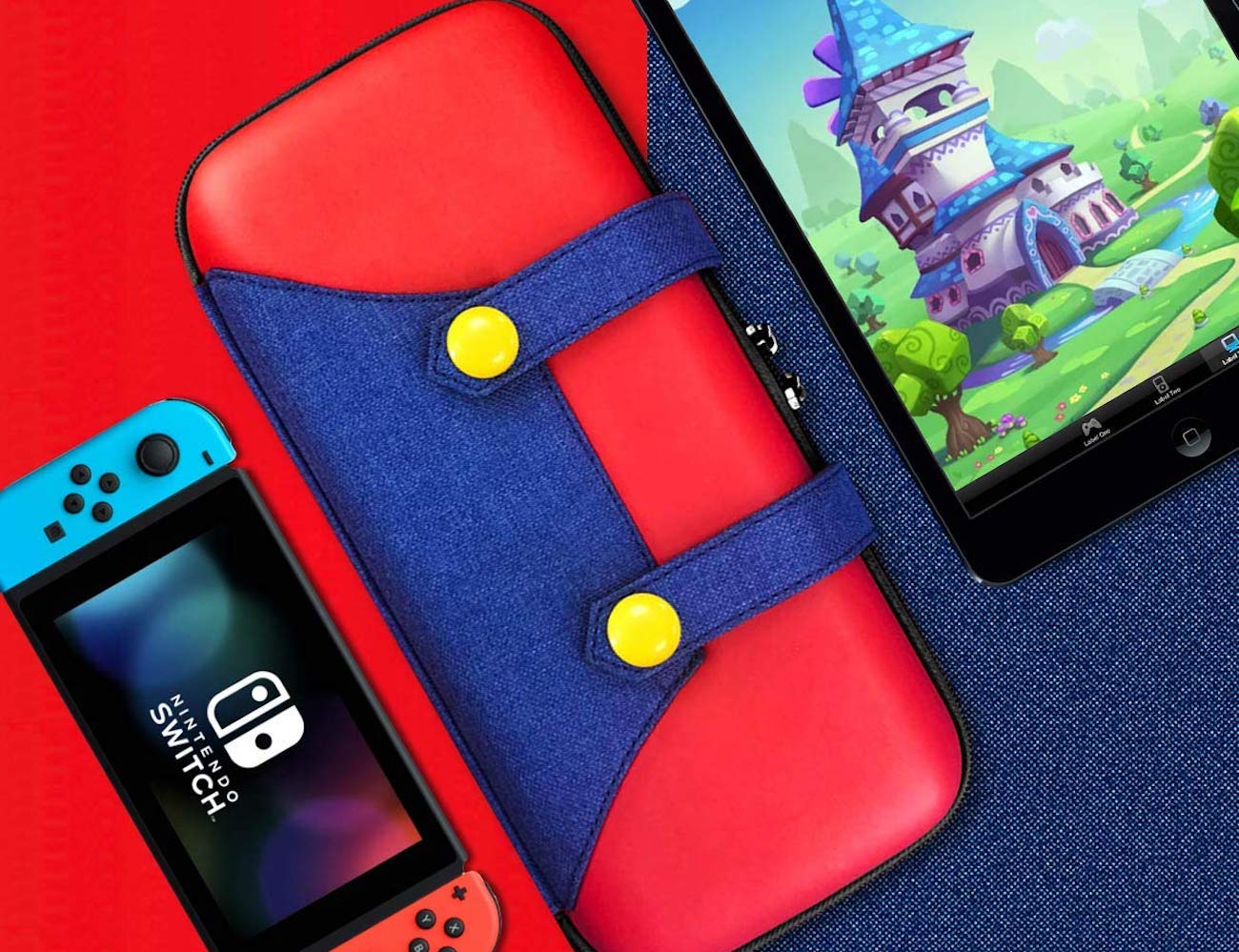10 Must-have gaming accessories that will help you level up - Nintendo Switch Case 01