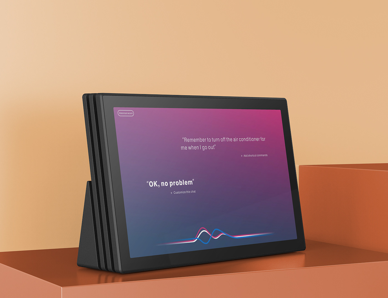 AI Assistant Speaker and Tablet Combo gives you portable smart home technology