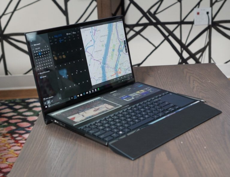 ASUS+ZenBook+Pro+Duo+Expanded-Screen+Laptop+gives+you+a+screen+above+the+keyboard