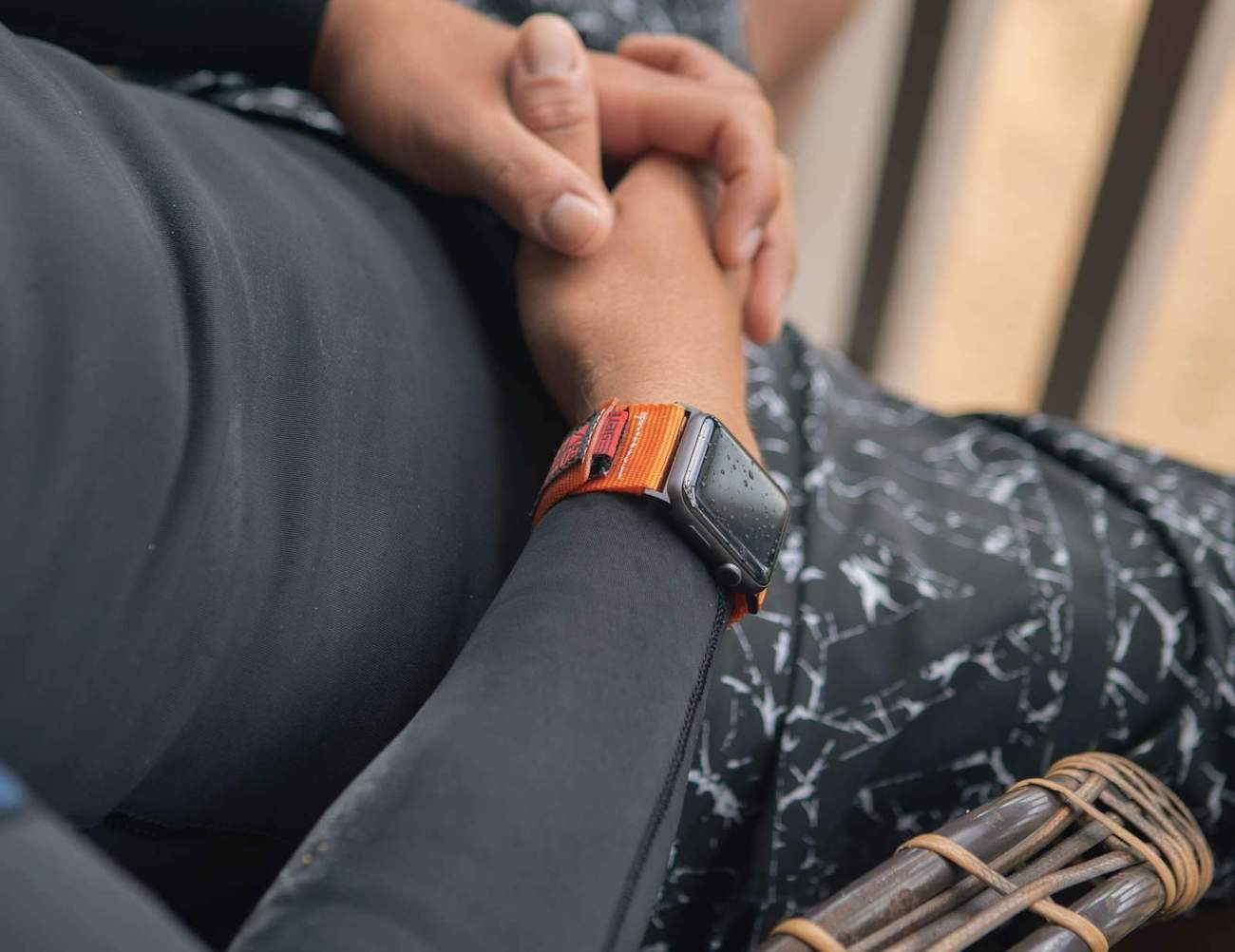 Active Band Strong Apple Watch Strap goes wherever adventure takes you