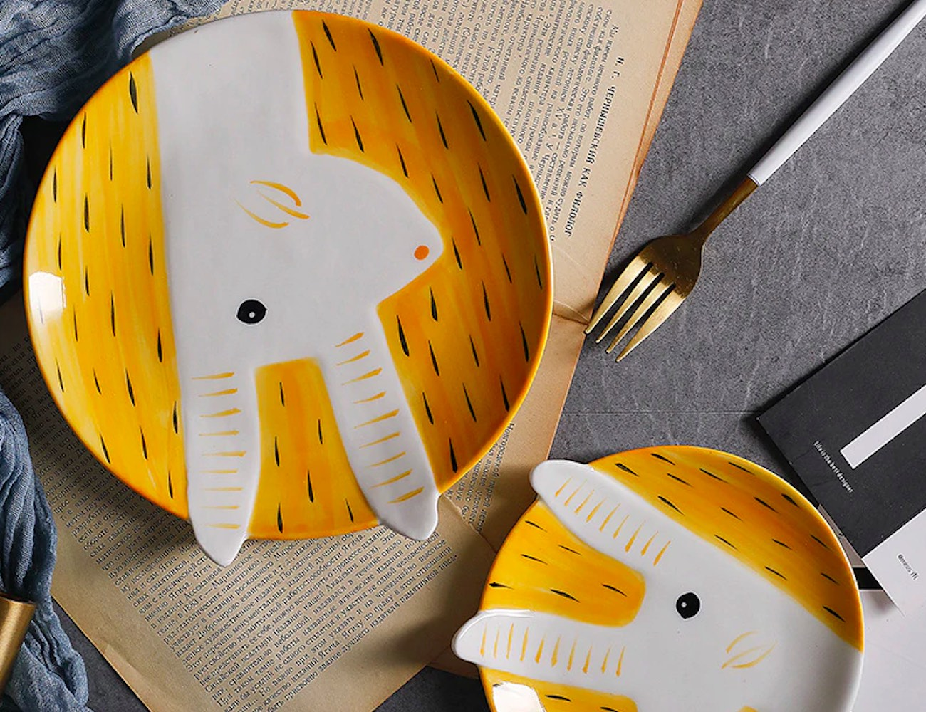 Adorable Animal 3D Designed Plates add some cuteness to your breakfast