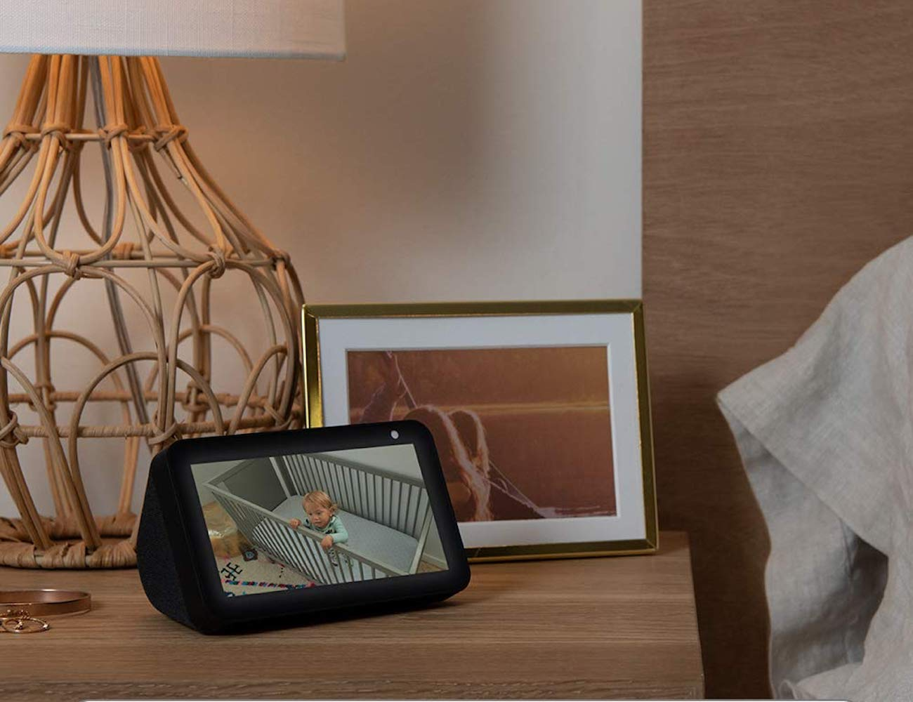 Amazon Echo Show 5 Alexa Enabled Smart Screen is the perfect nightstand assistant