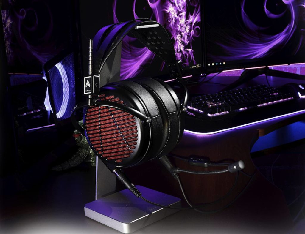 Audeze+LCD-GX+Audiophile+Gaming+Headphones+provide+crisp+sound+effects