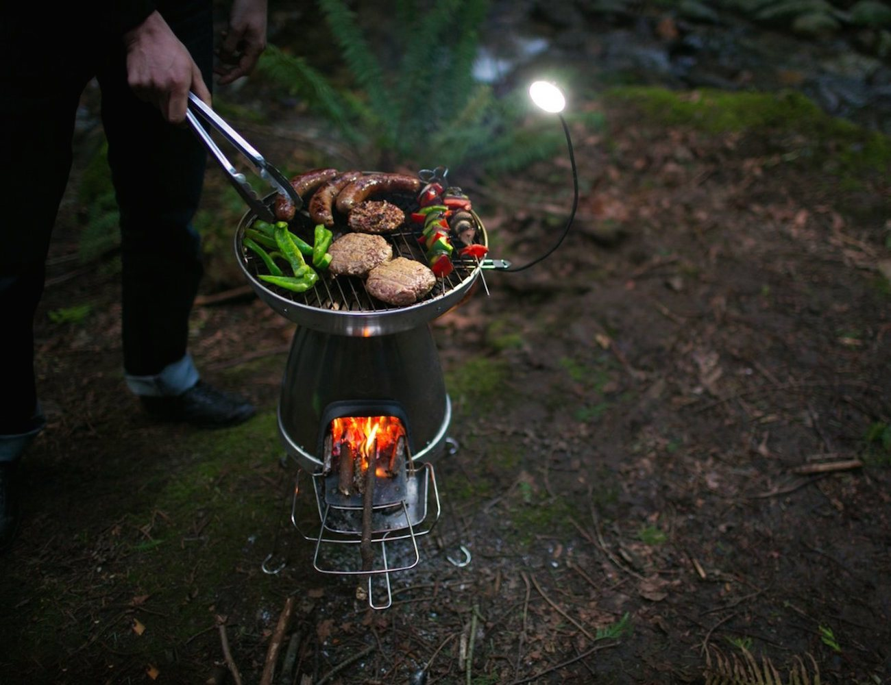 BaseCamp Wood Burning Stove and Grill by BioLite