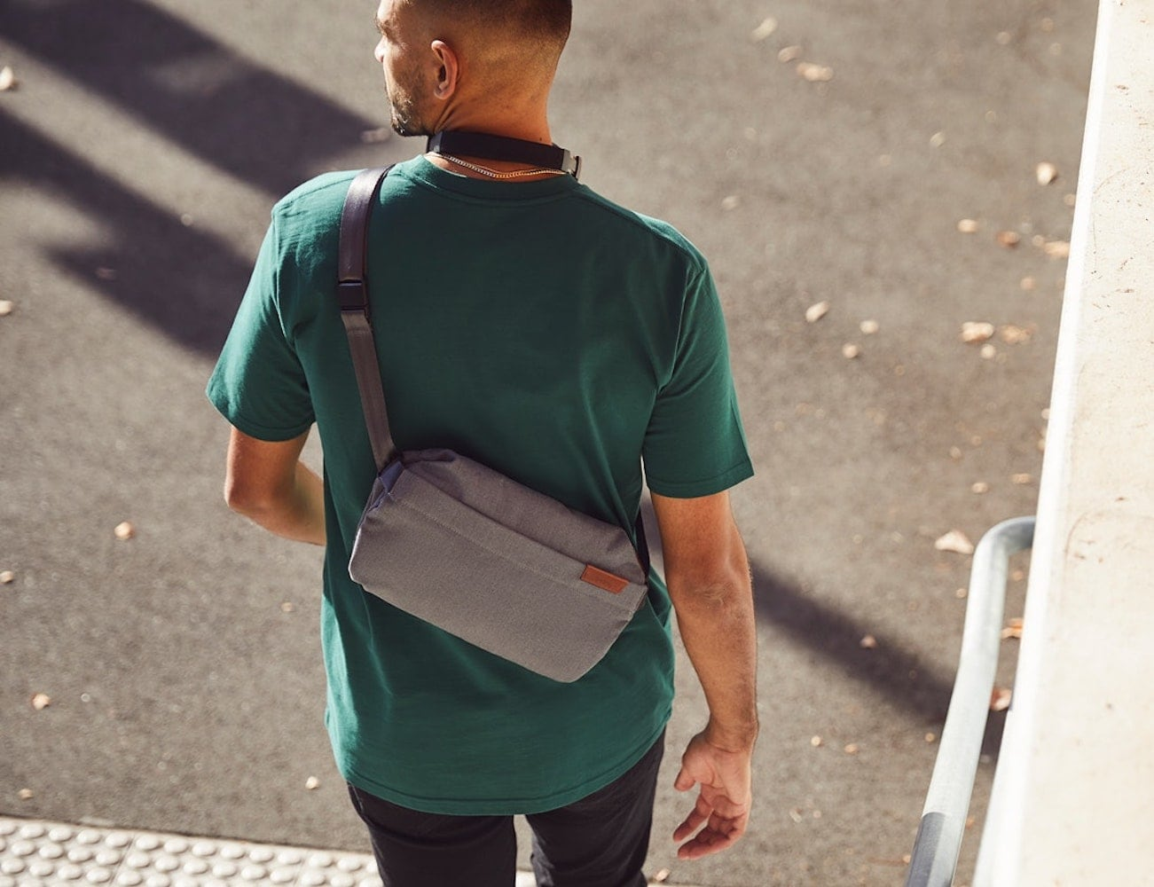 Bellroy Sling Essentials Bag is a comfortable way to carry everything