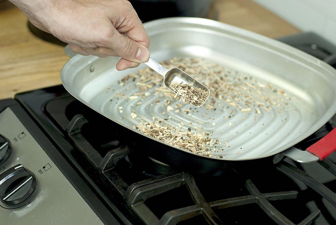 Charcoal Champion Kitchenque Stovetop Smoker