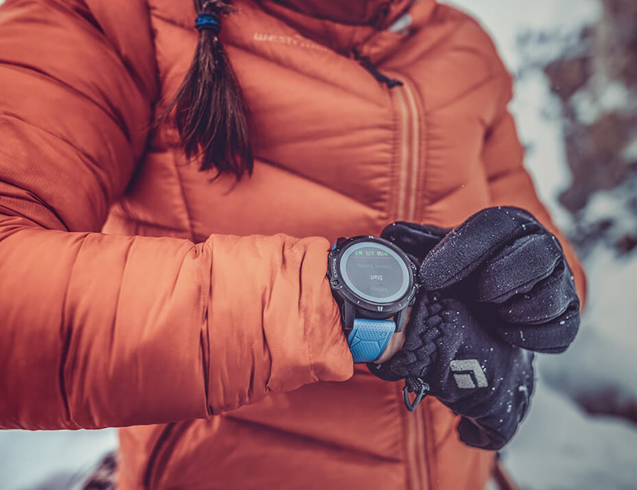 Coros VERTIX GPS Outdoor Adventure Watch has a 45-day battery life