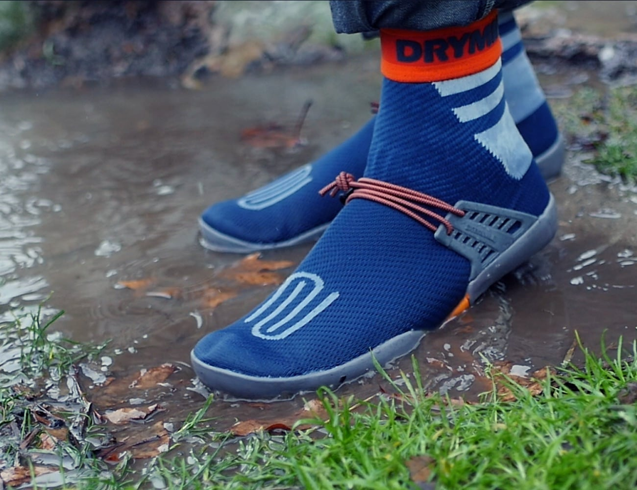DRYMILE Packable Waterproof Sock Shoes keep your feet protected