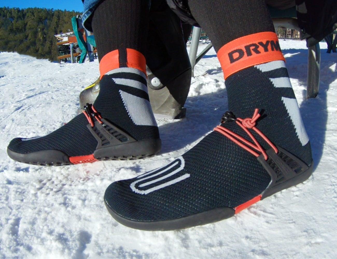 DRYMILE Packable Waterproof Sock Shoes keep your feet protected