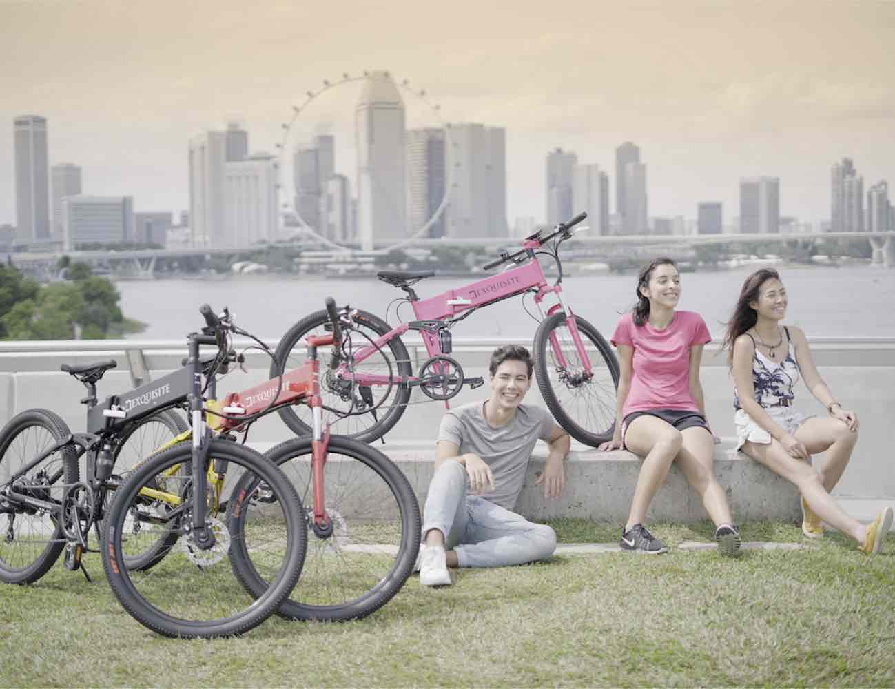 Dexquisite Self-Charging E-Bike fuels up while you pedal