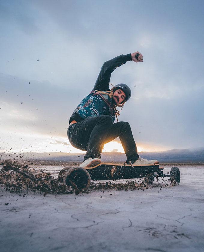 The+Evolve+Bamboo+GTR+All-Terrain+Electric+Skateboard