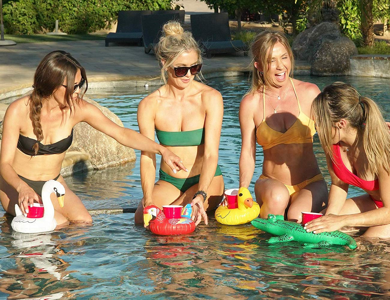 Floating Pool Drink Holders bring magic and fantasy to your pool party