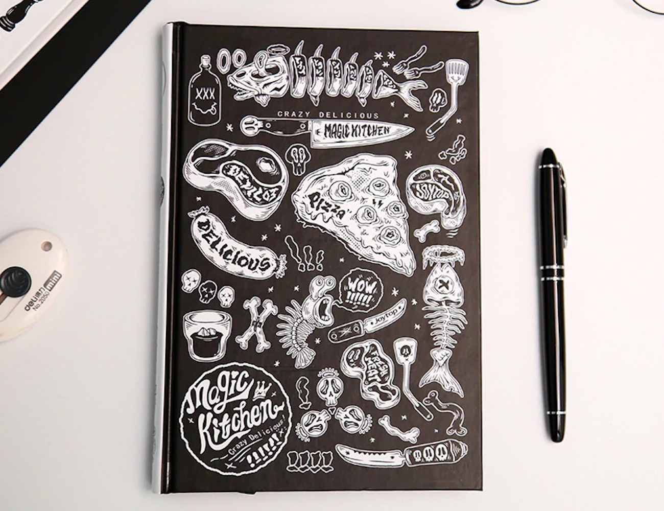 Graffiti Artwork Hardcover Notebook will inspire you to create