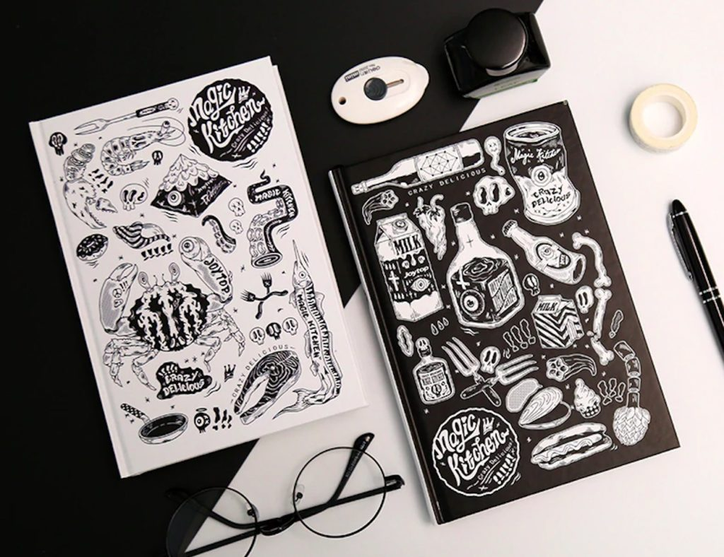 Graffiti+Artwork+Hardcover+Notebook+will+inspire+you+to+create