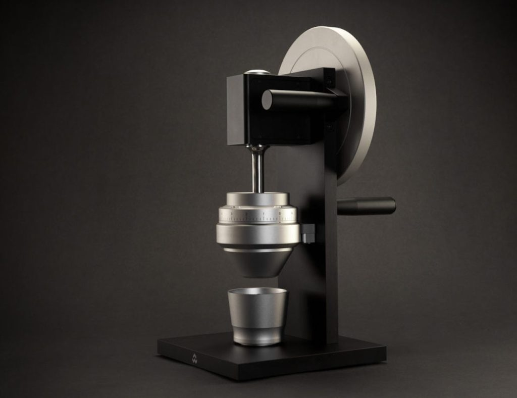 HG-1+One-Handed+Countertop+Coffee+Grinder+brings+the+coffee+shop+to+your+kitchen