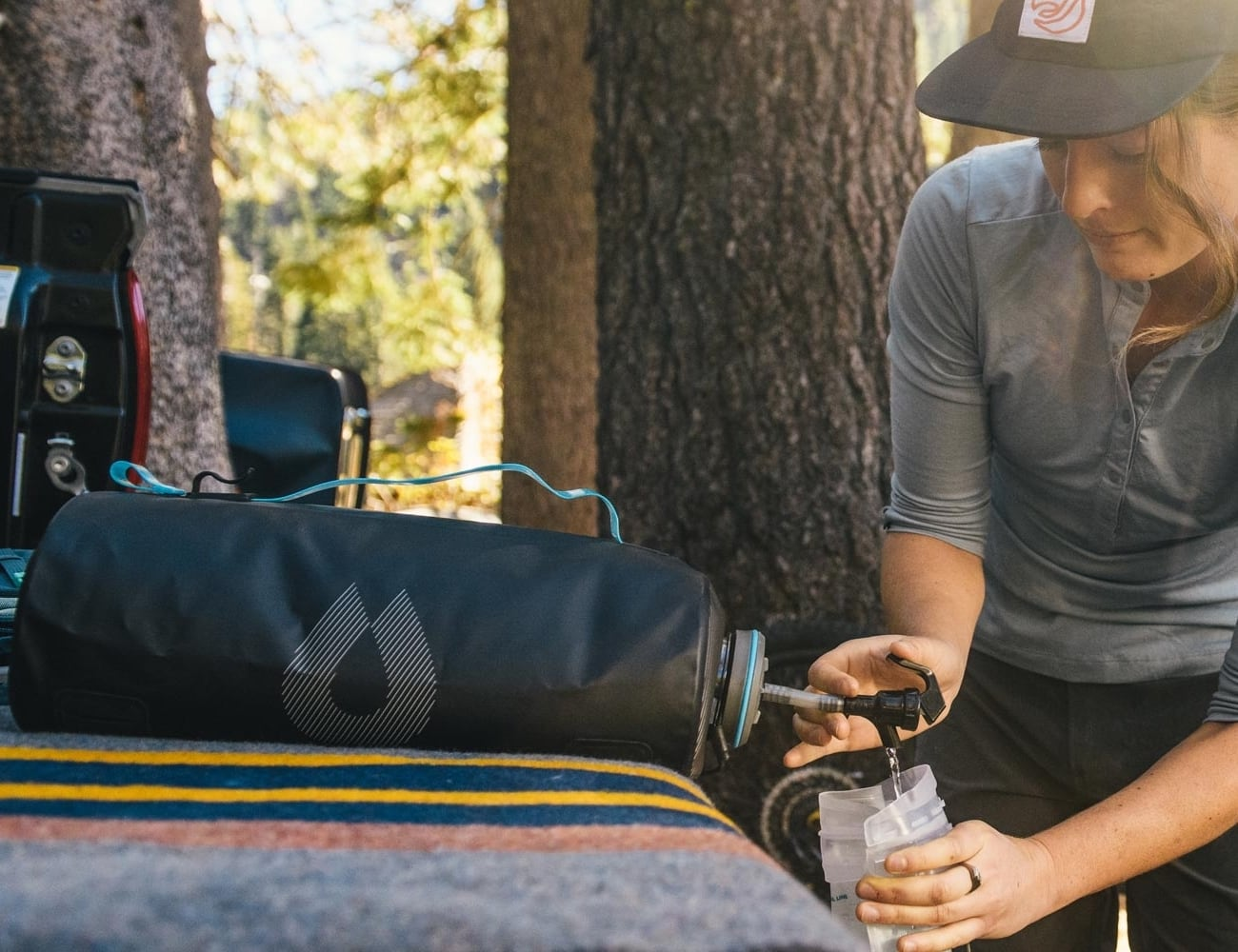 HydraPak Expedition 8-Liter Water Storage Bladder keeps all your adventures hydrated
