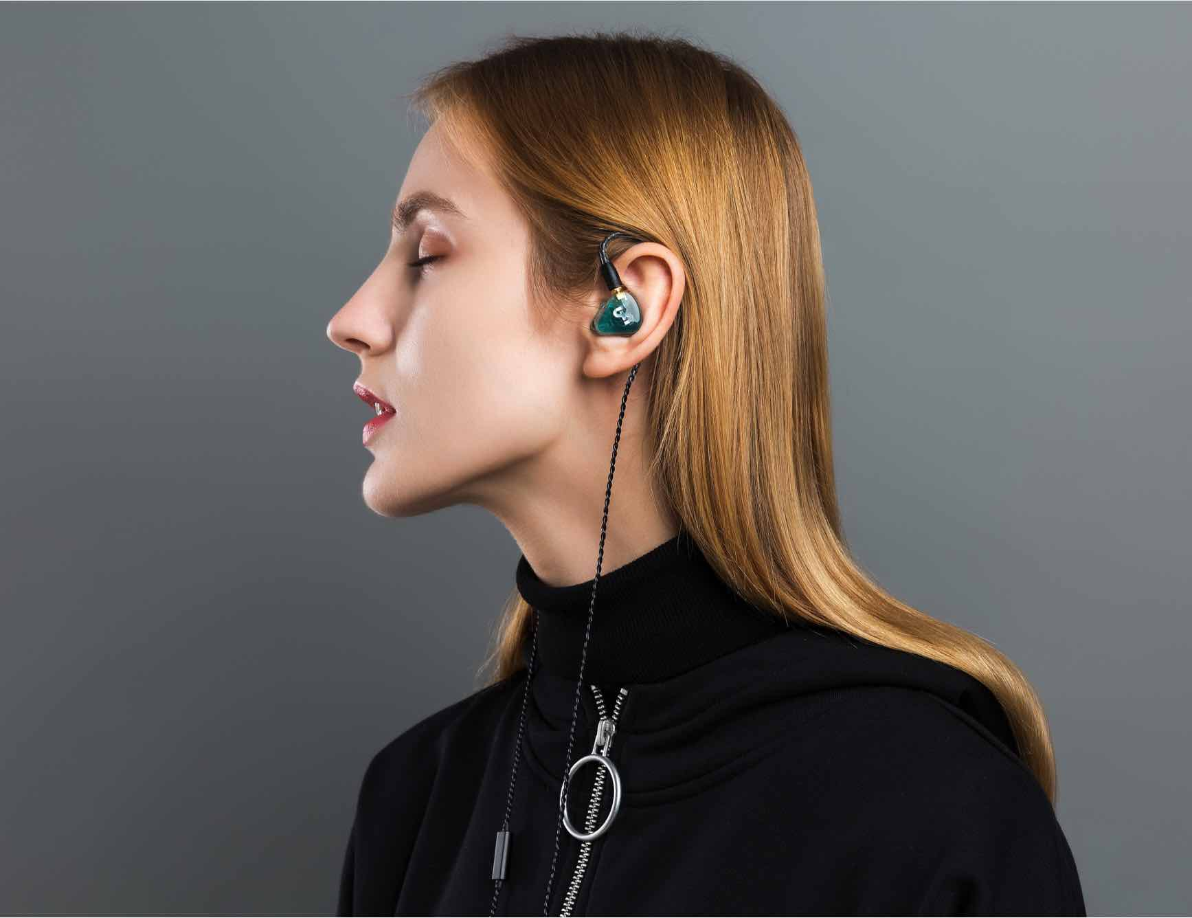 IF Transparent Wireless In-Ear Earphones feature 3D-printed drivers