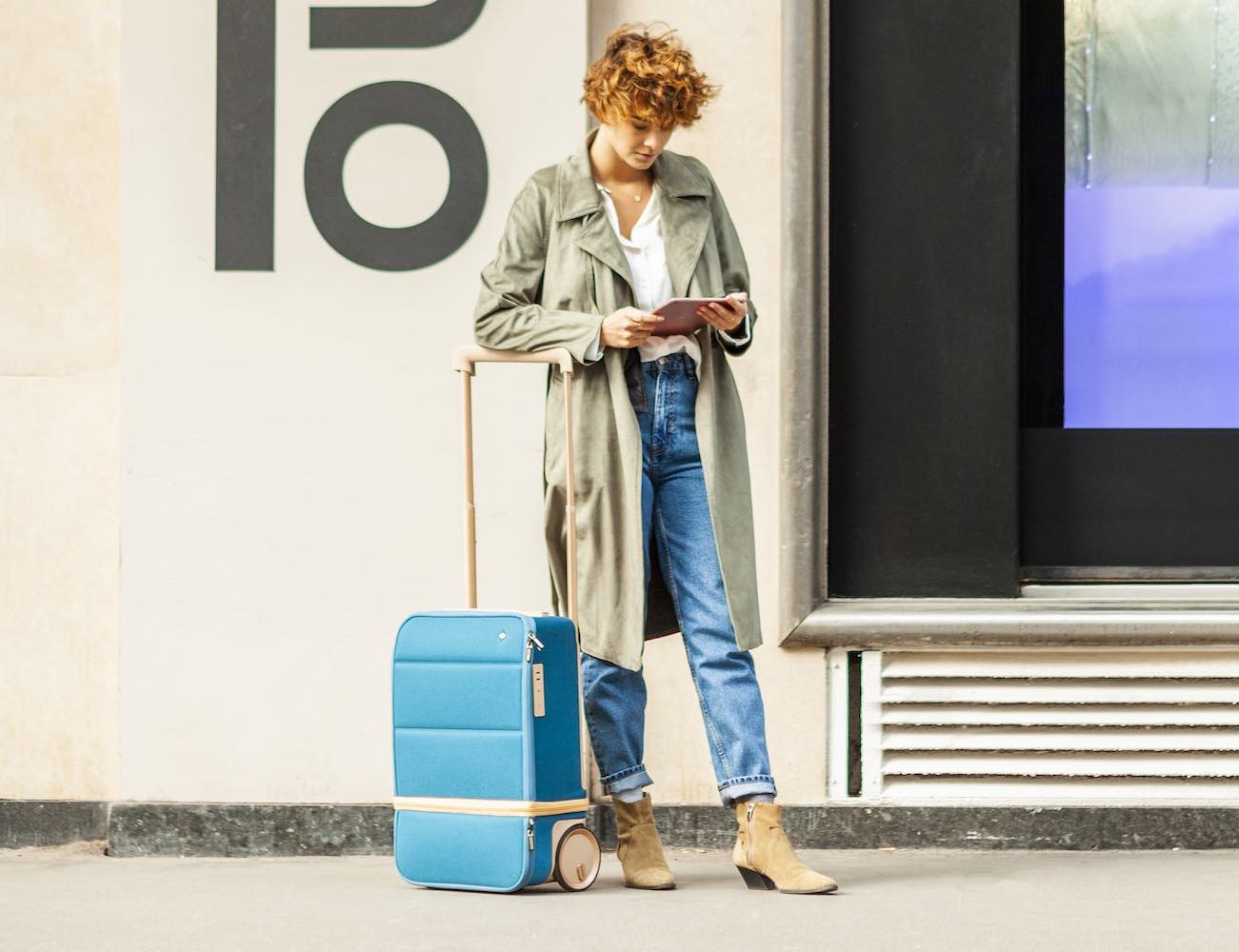 Kabuto Xtend Smart Carry-On Luggage expands to the size you need