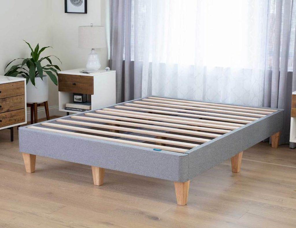 Leesa+Platform+Bed+Easy+Assembly+Bed+Frame+eliminates+your+box+spring