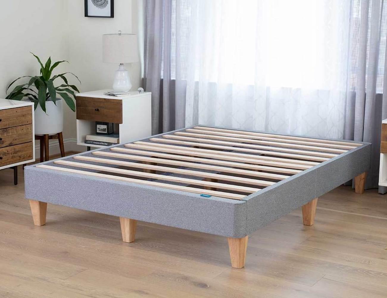 Leesa Platform Bed Easy Assembly Bed Frame eliminates your box spring