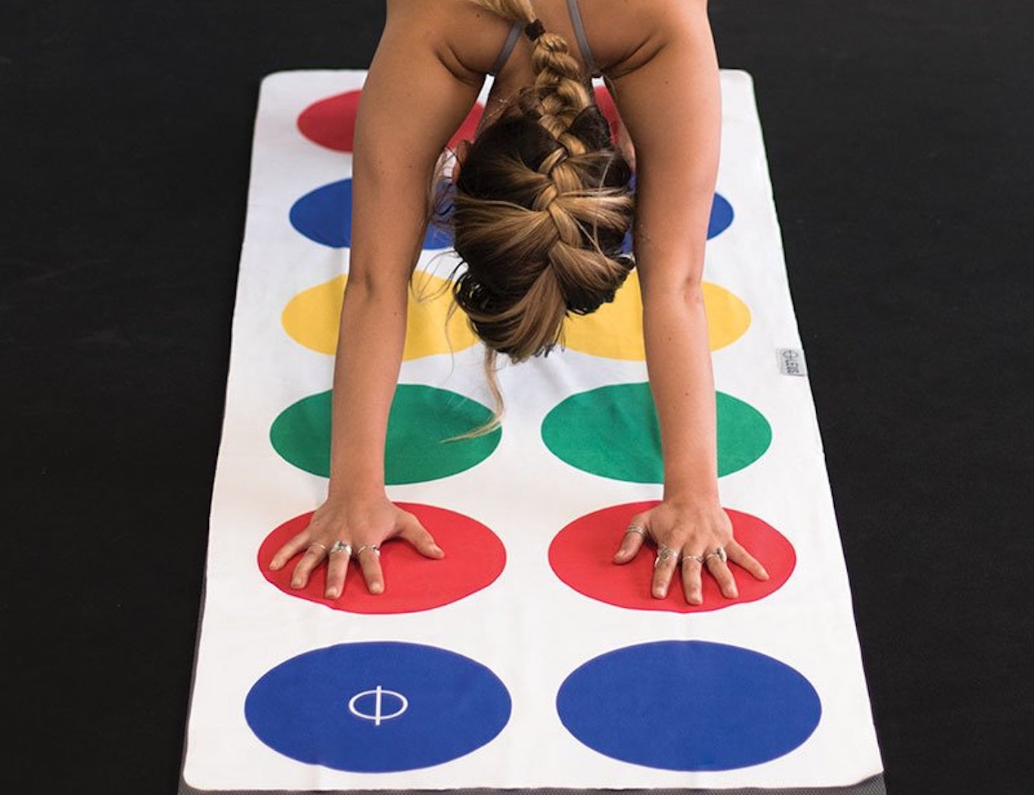 Leus Twister-Inspired Yoga Mat Towel is here to gamify your workout