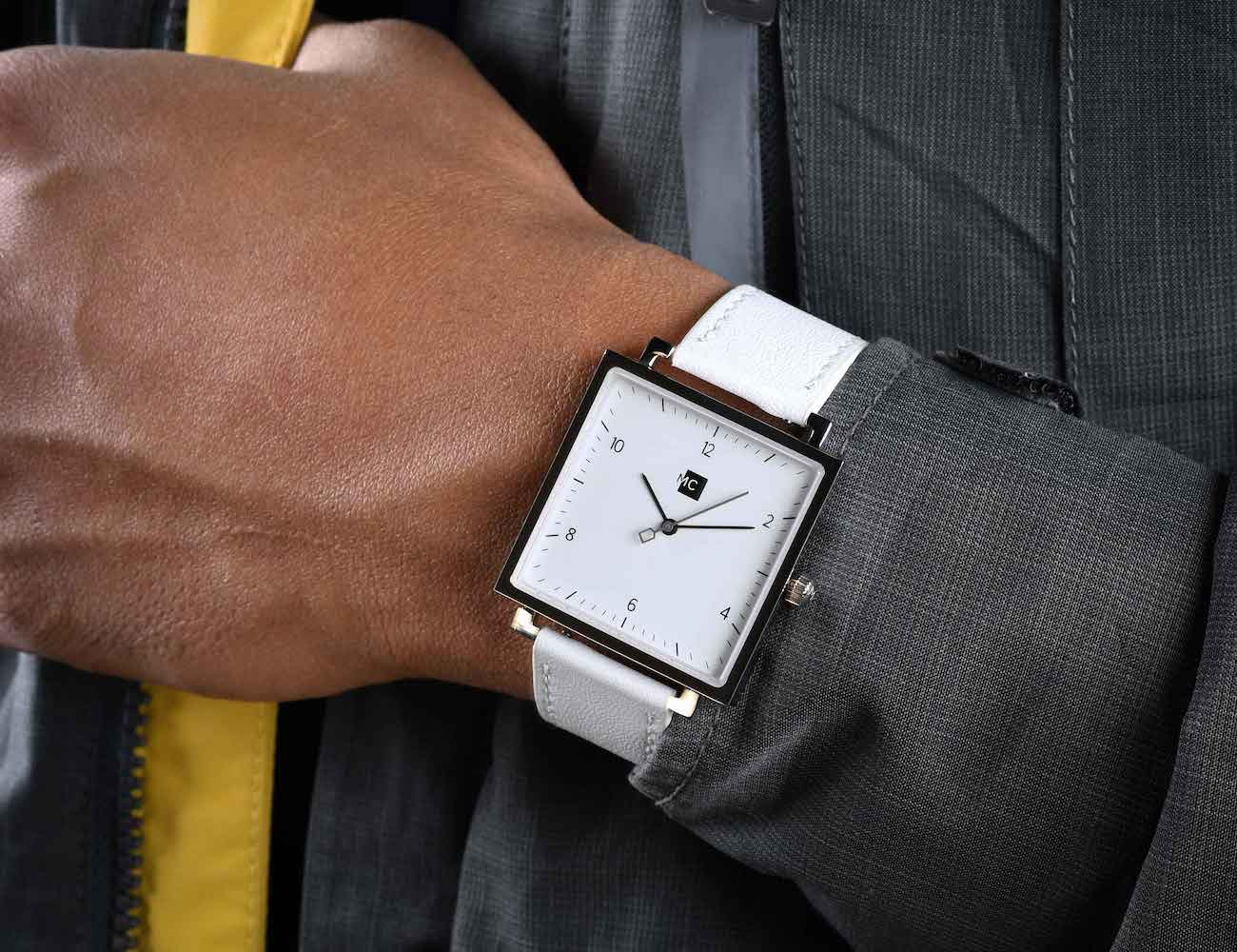 MC Luxurious Square Watch combines beauty and affordability