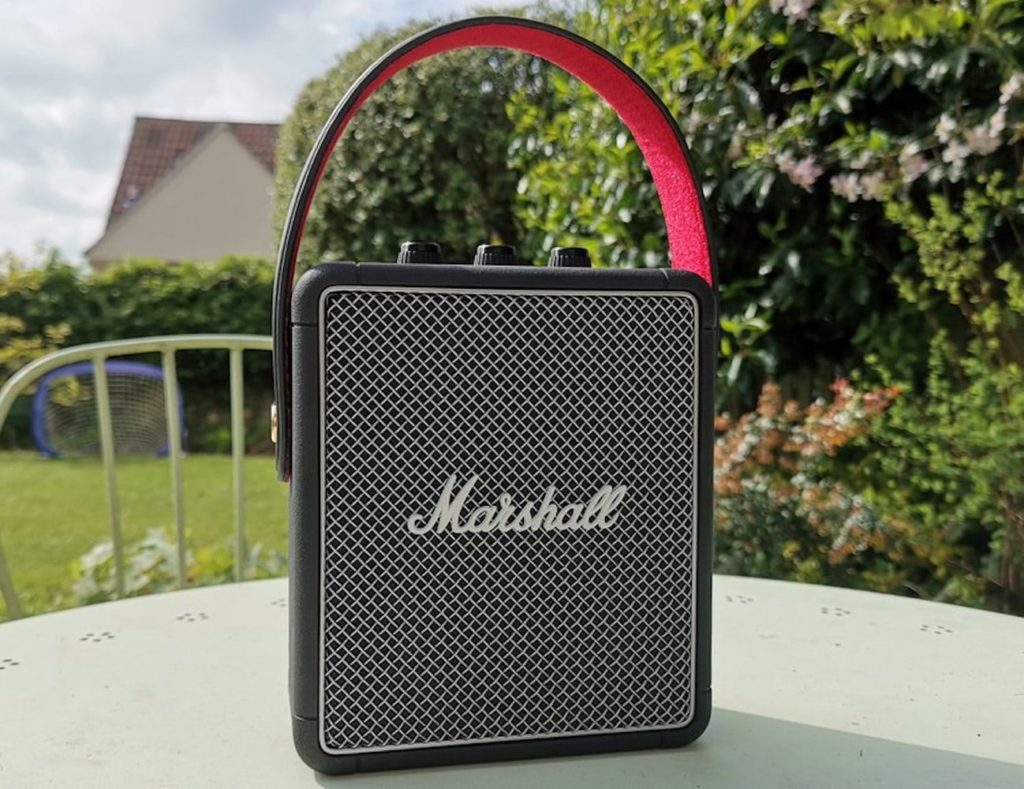Marshall+Stockwell+II+Lightweight+Compact+Portable+Speaker+provides+immersive+sound
