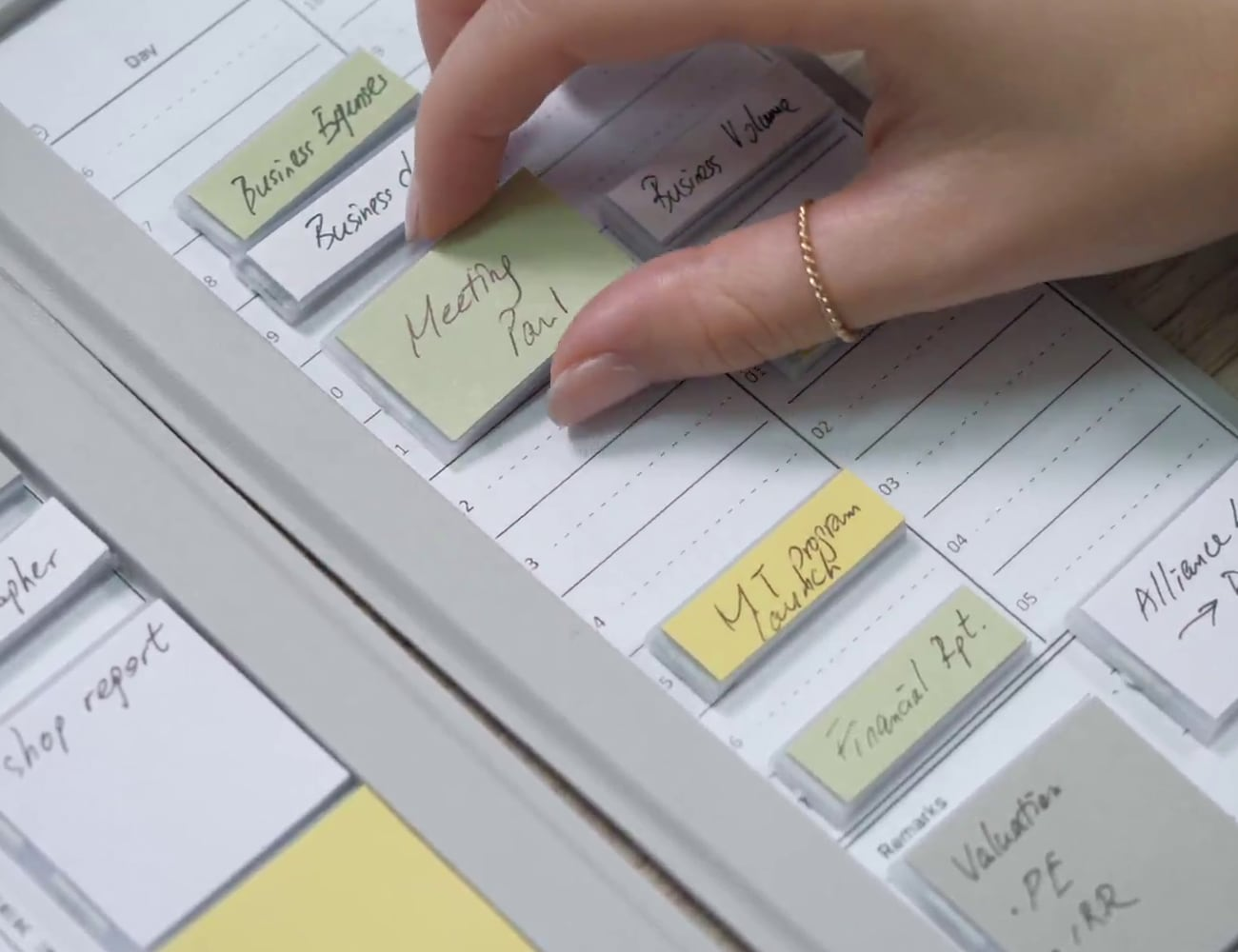 Mover Tactile Movable Thinking Tool creates effortless organization