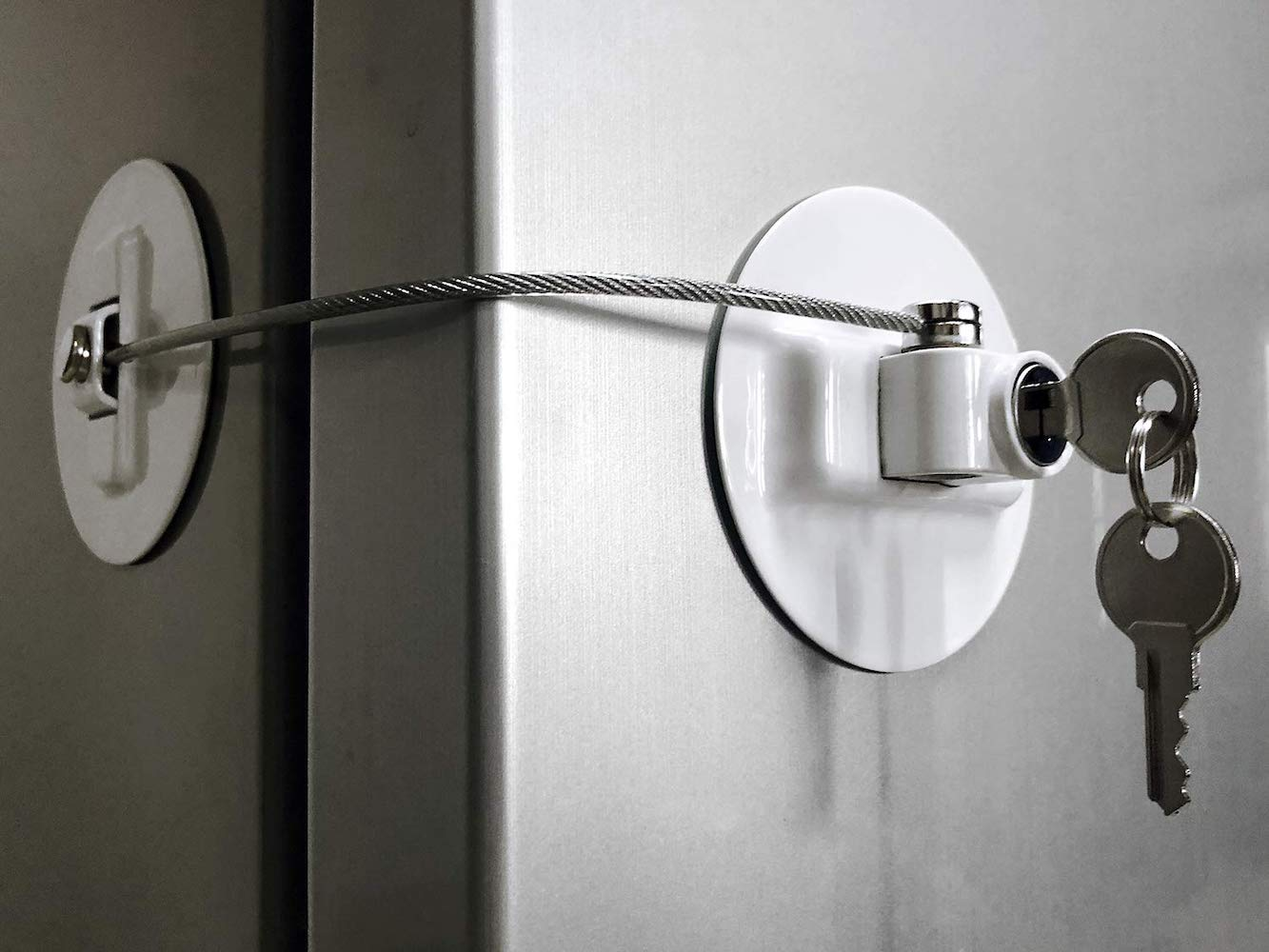 Muin Refrigerator Door Lock is food security like you've never seen it before