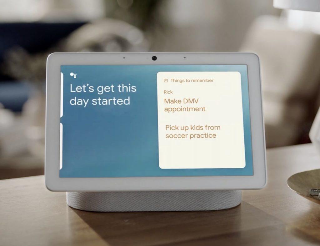 Nest Hub Max Google Assistant Smart Display