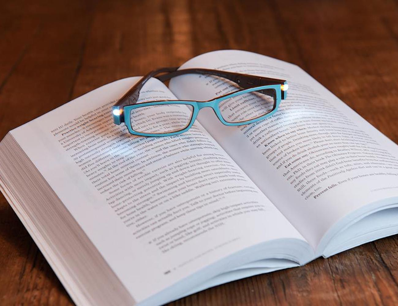 NiteSpecs LED Light Reading Glasses let you see with precision