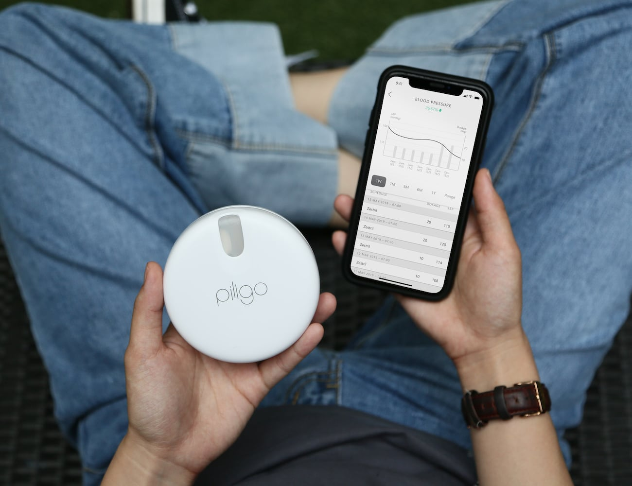 Pillgo Smart Medication-Tracking Pillbox makes managing your health a breeze