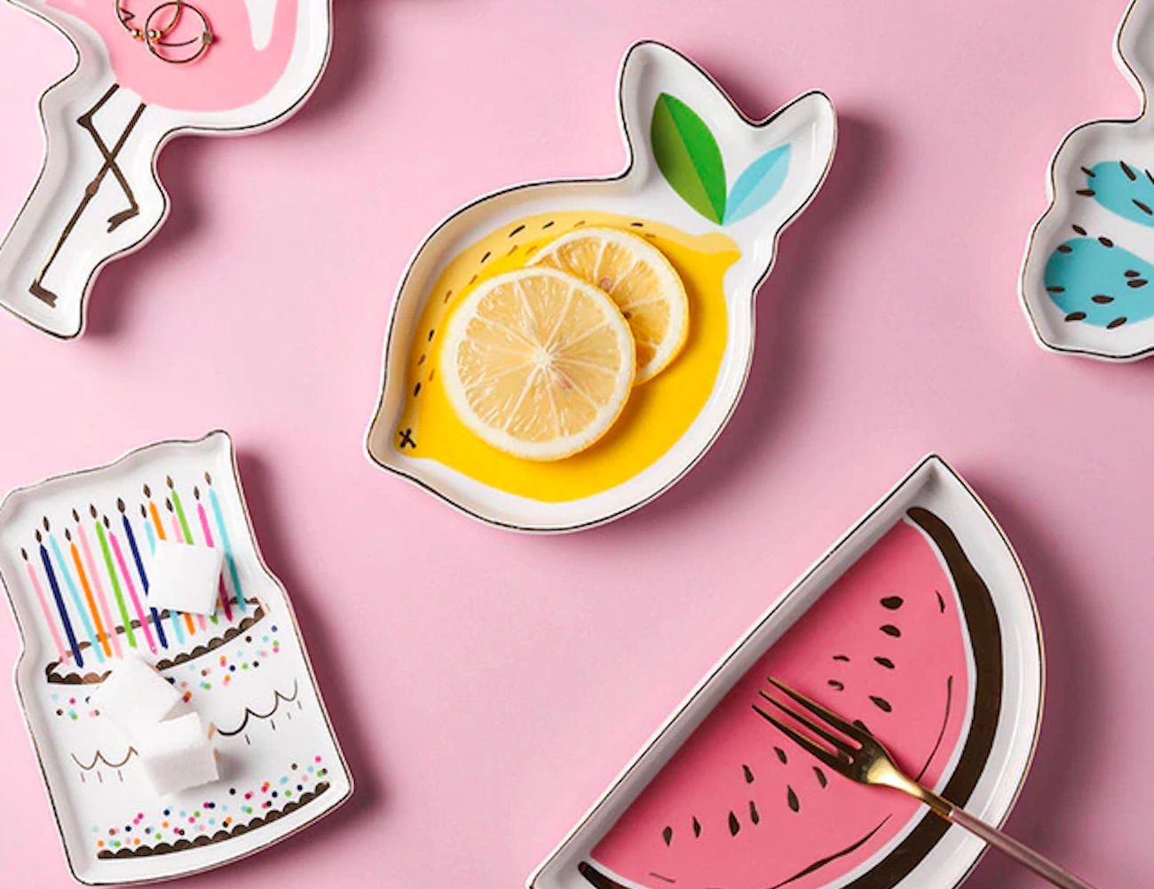Pop Art Cartoon Valet Dishes adds a pop of fun to your organization