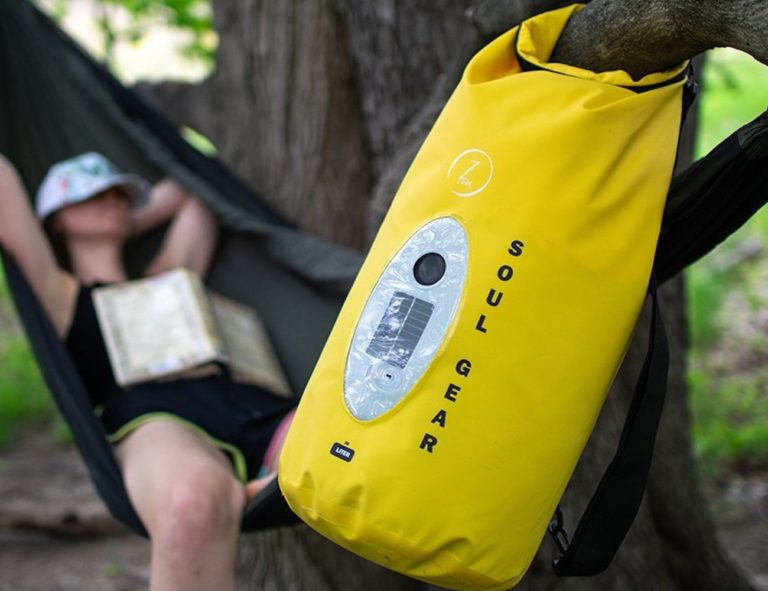 SOUL+GEAR+Waterproof+Dry+Bag+Speaker+combines+two+must-haves+in+one