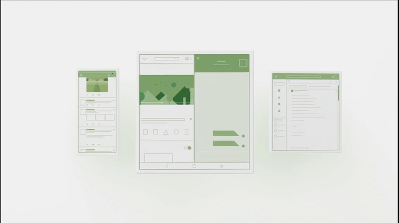 Put full screen to use with Android Q on foldable phones