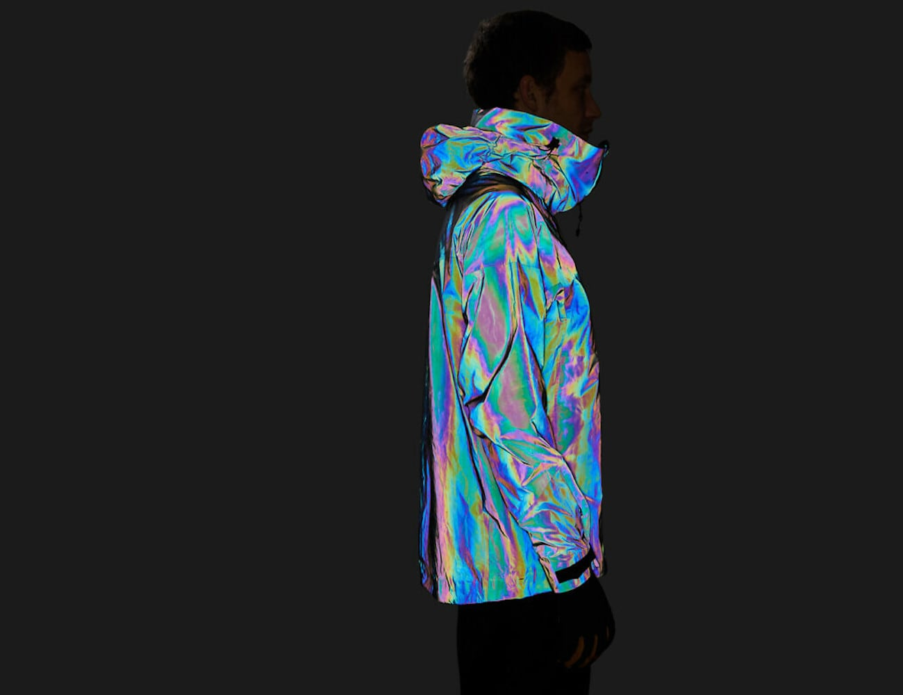 Vollebak Squid-Ink Inspired Jacket employs color-shifting technology inspired by the animal kingdom