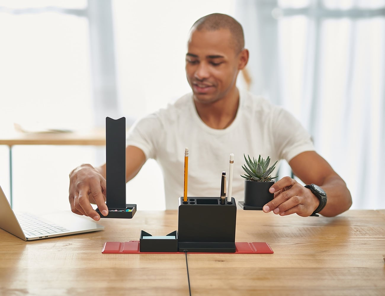 STEALTHO Transforming Desk Organizer