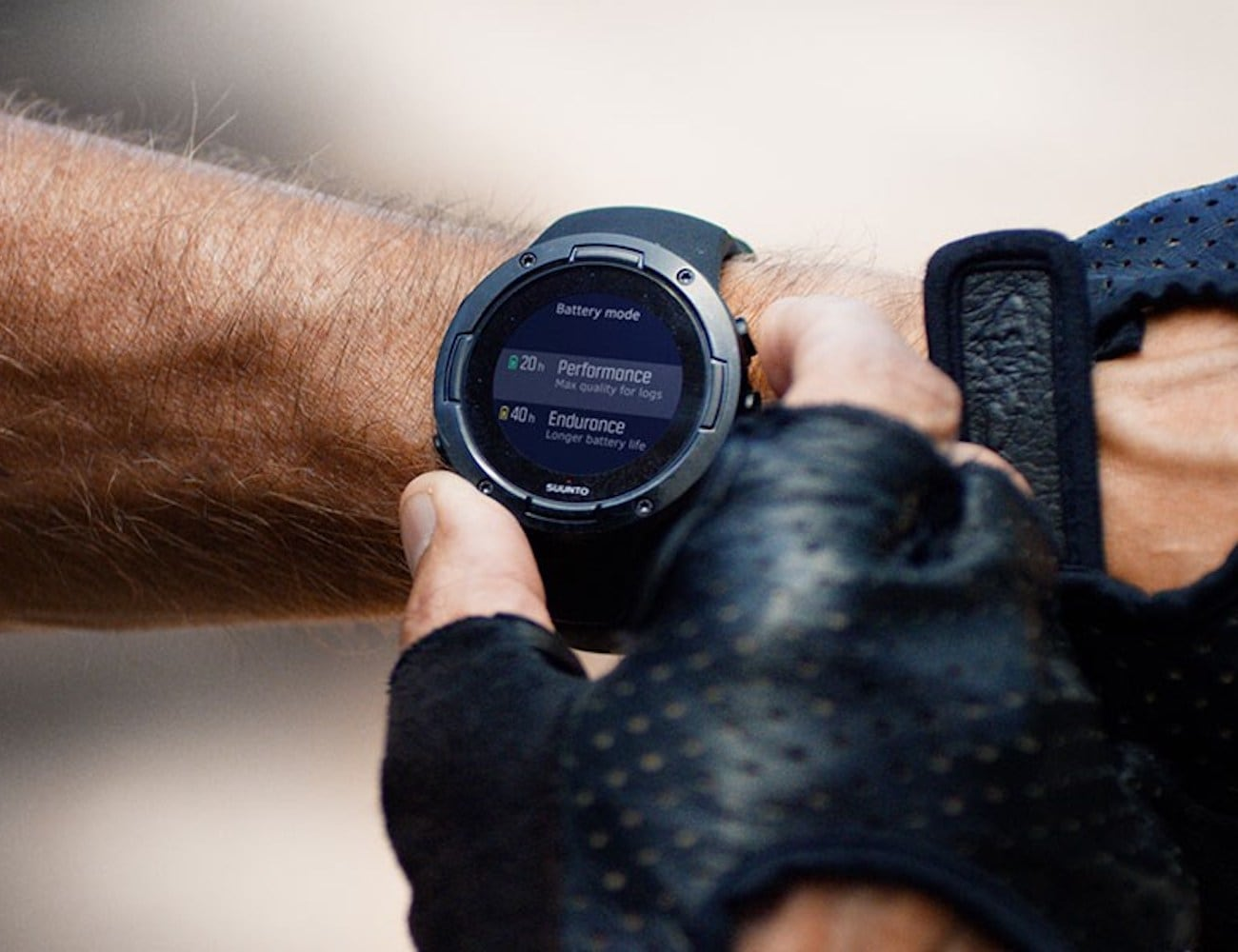 Suunto 5 Compact Long-Lasting GPS Sports Watch has incredible battery life