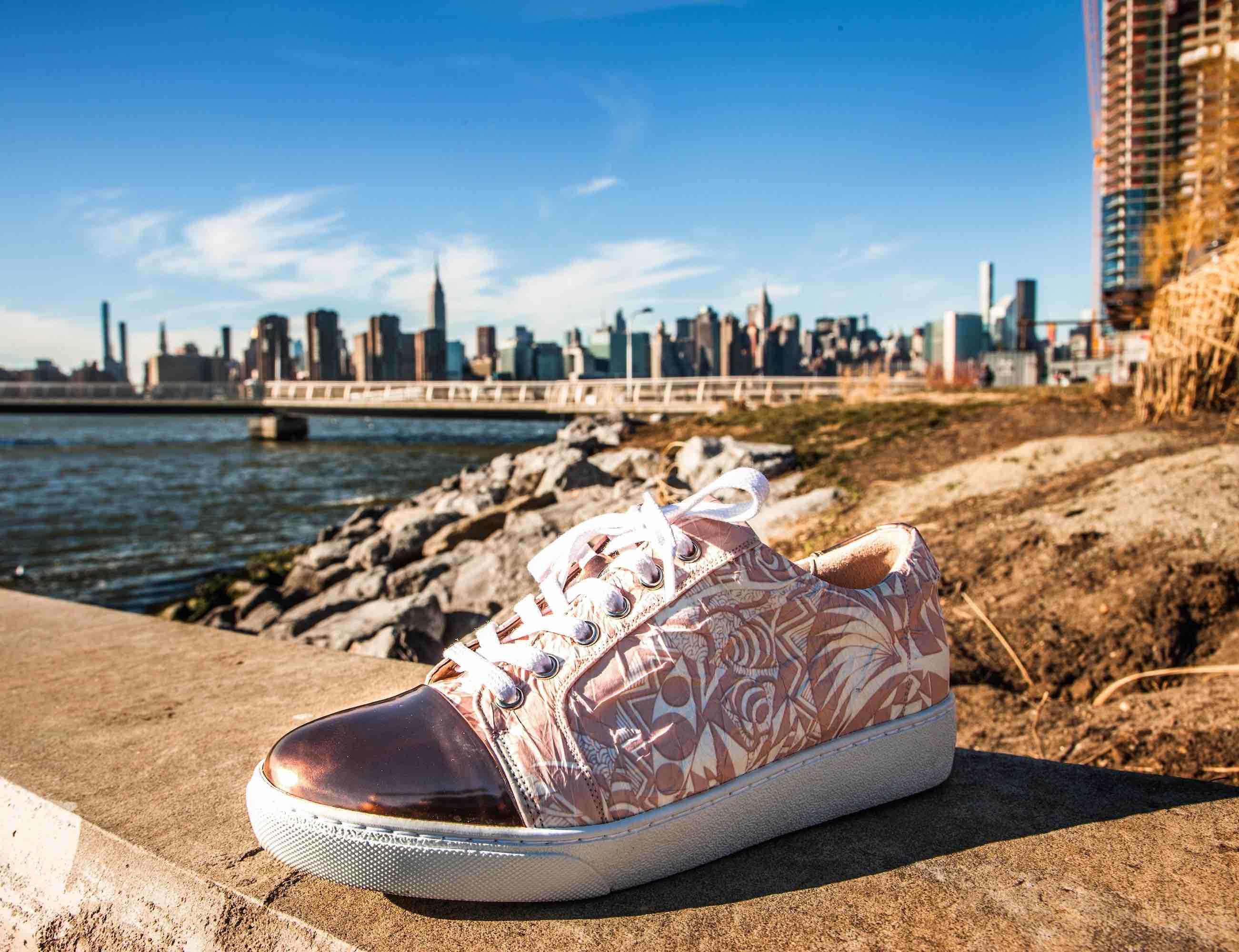 TGrimm Sneakers Artistically Designed Shoes are also waterproof