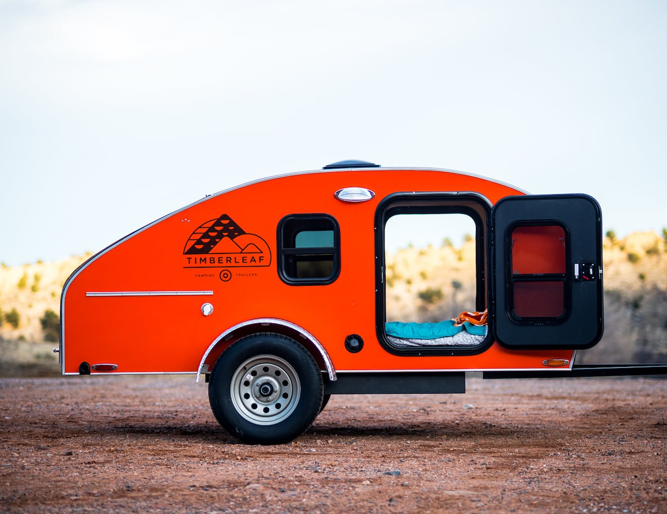 Timberleaf Teardrop Trailers let you camp off the beaten path