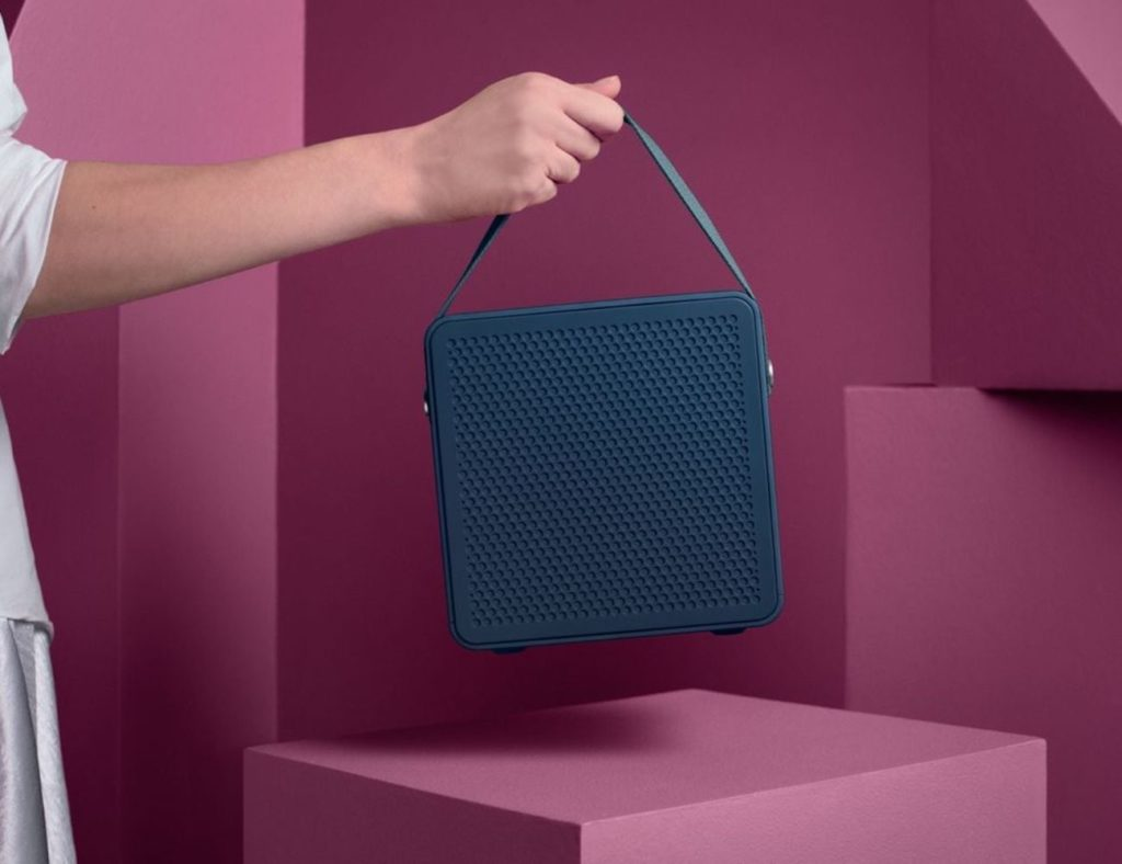 Urbanears+R%C3%A5lis+Double+Bluetooth+Portable+Speaker+can+connect+to+multiple+devices