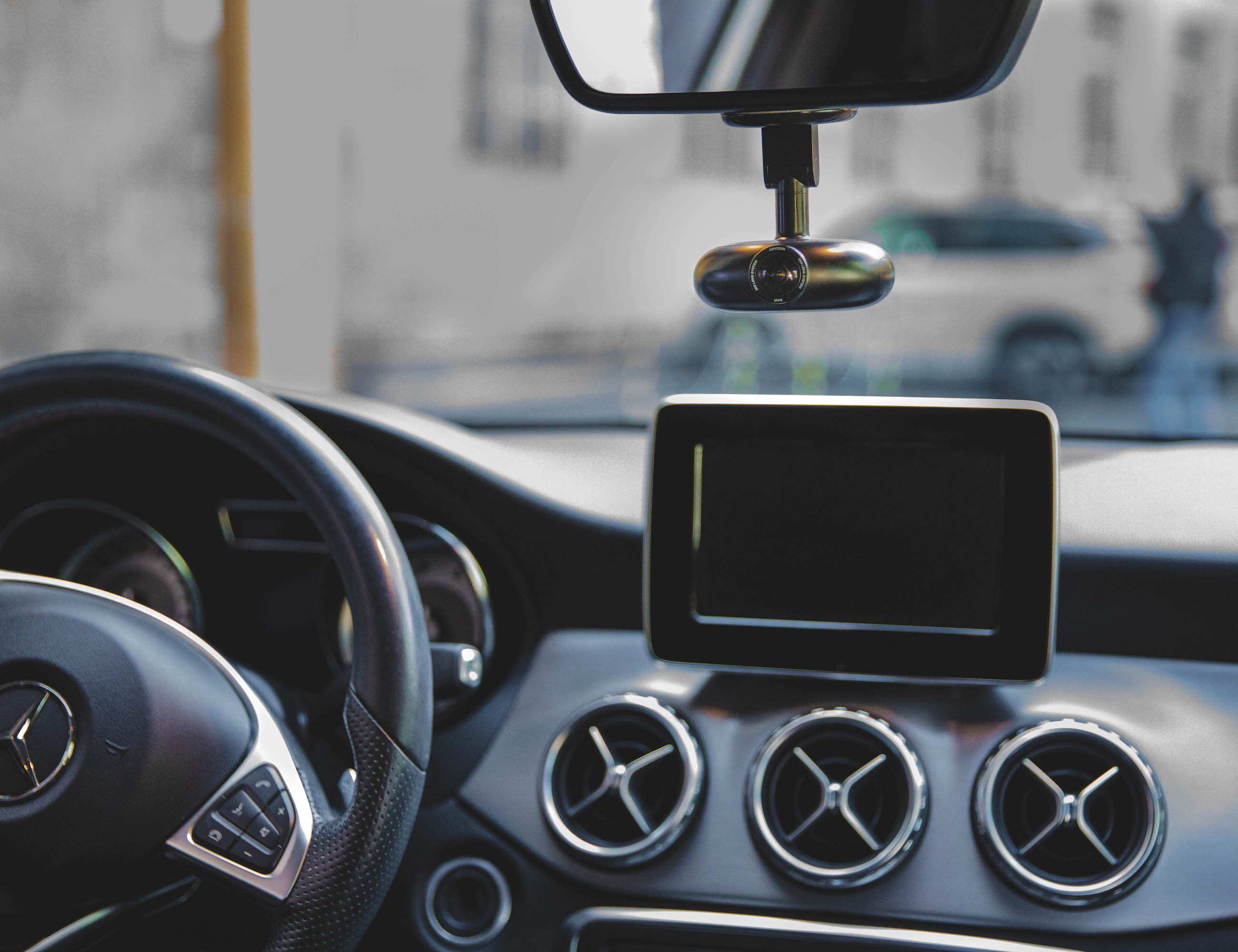 VEZO 360 4K 360-Degree Smart Dash Cam protects your vehicle and your passengers