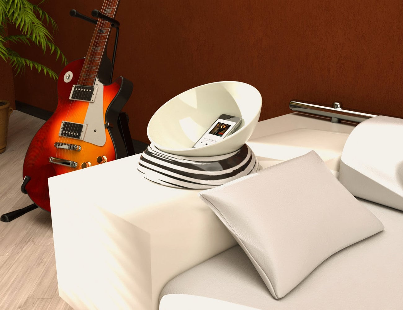 Wave Live Ceramic Acoustic Amplifier is great for parties and small get-togethers